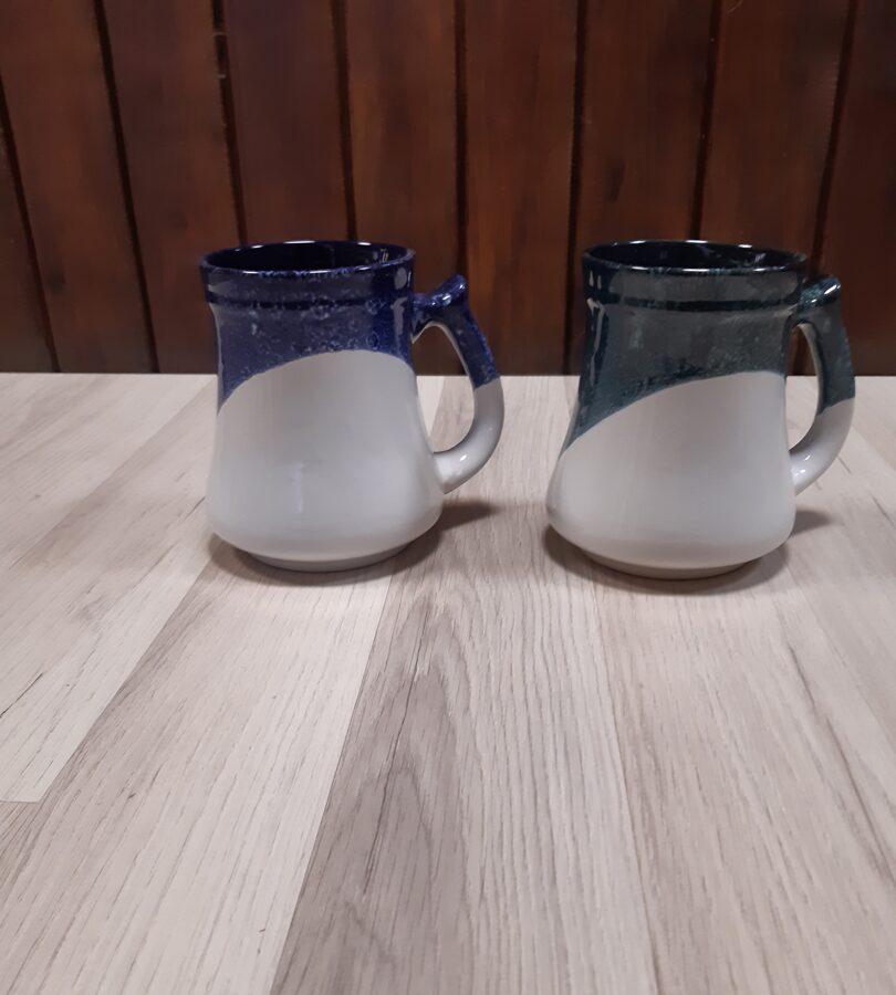 Keramikas alus kauss ar Pļaviņu ģerboni