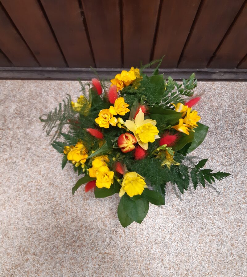 Ziedu pušķis Nr.30 (pieejams pavasara sezonā)