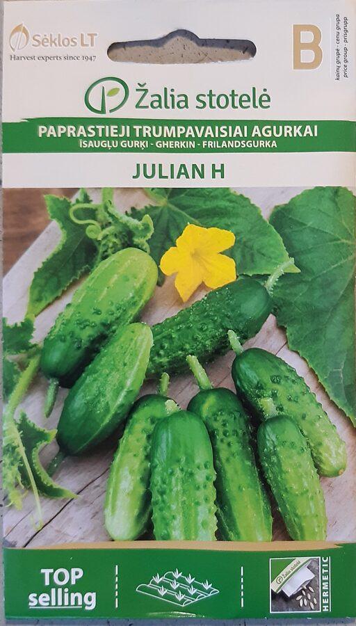 Īsaugļu gurķi Julian H