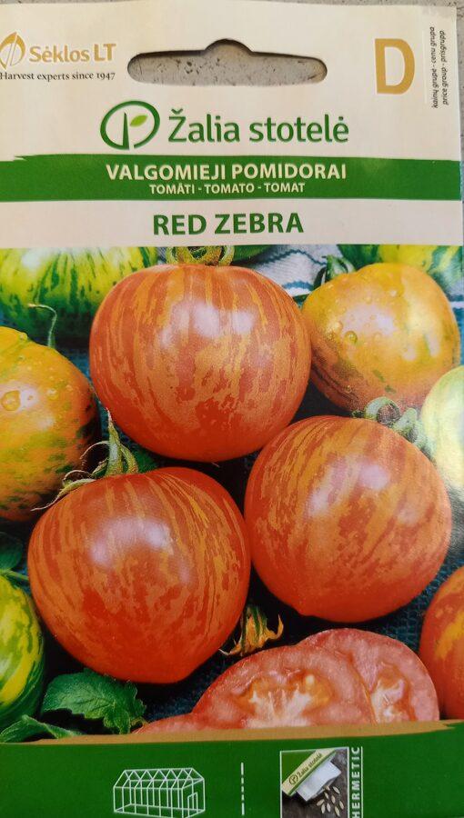 Tomāti Red Zebra