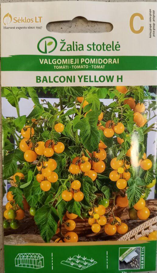 Tomāti Balconi Yellow H
