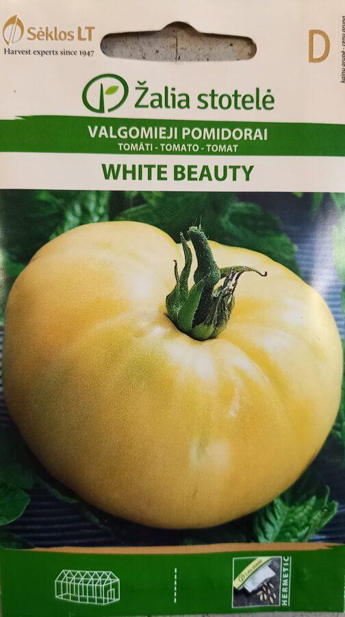 Tomāti White beauty