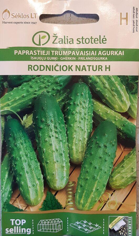 Īsaugļu gurķi Rodničiok Natur H