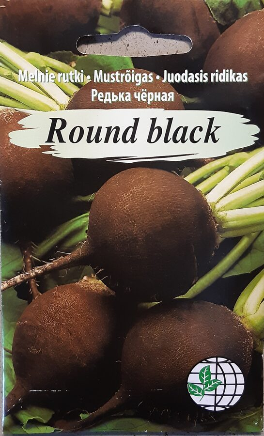 Melnie rutki Round black