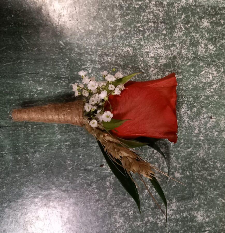 Līgavaiņa piespraude Nr. 5