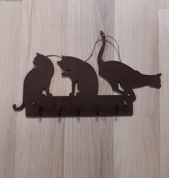 """Atslēgu pakaramais """"3 kaķi"""""""
