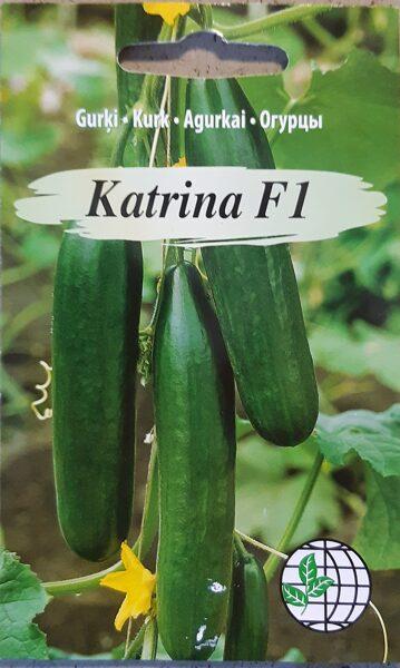 Gurķi siltumnīcu Katrina F1