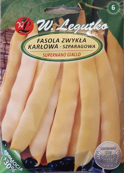 Pupiņas sparģeļu zemās dzeltenās Supernano Gialto