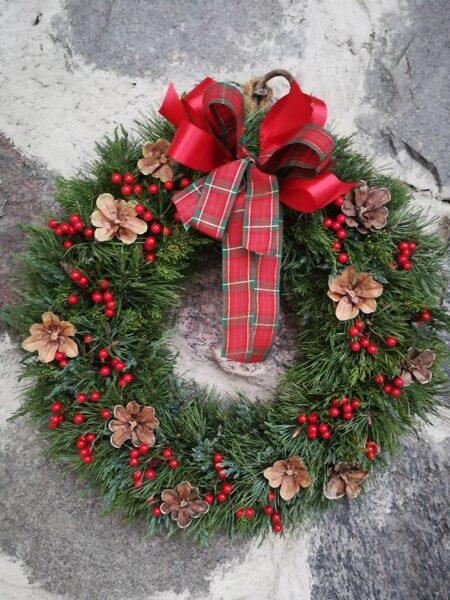 Ziemassvētku vainags